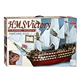 Jumbo Spiele D80833 Constructo H.M.S. Victory England XVIII Holzbausatz