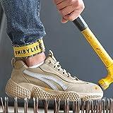 Sicherheitsschuhe mit Stahl-Zehenbereich, leicht, Arbeitsschuhe, atmungsaktiv, industriell,...