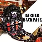 Barber Tragbarer Werkzeugrucksack Wasserdicht Großraum-Outdoor-Reise-Haarschneider Salon Toolbag