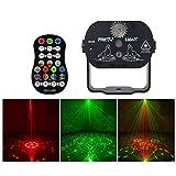 Mini-Bhne Atmosphren-Lampe, Drehen DJ-DJ 9W Laser Scanner LED-Disco-Lampe mit Fernbedienung for KTV...