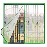Magnetisches Insektenschutz-Fenster, selbstklebend, für Zuhause, Schlafzimmer, Küche, Kinderzimmer...