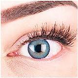 """Sehr stark deckende und natürliche blaue Kontaktlinsen SILIKON COMFORT NEUHEIT farbig """"Mirel..."""