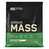 Optimum Nutrition ON Serious Mass Hochkalorisches Weight Gainer Protein Pulver, Whey Protein,...