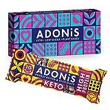 Adonis Keto Protein Riegel | Erdnussbutter & Schokolade Snack Riegel | 100% Natürliche Nuss Snacks,...