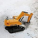 Naroote 2.4G 1:24 Legierungsbagger Spielzeug Drahtlose Fernbedienung Autosimulation RC Truck Kinder...
