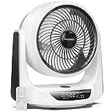 Pro Breeze 25 cm Turbo Ventilator mit automatischer Duo-Oszillation, 9 Lüftungsstufen, 4...