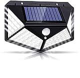 Solarlampen für Außen,【Super Helligkeit】Lspcsw 100 LED Solarleuchte mit Bewegungsmelder Solar...