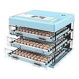WENZHE Ei Inkubator Digital vollautomatisch für 216 Eier Geflügelbrühe Auto-Turning 5...