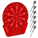 Elektronische Dartscheibe Dartboard Kabinett (Schwarz)