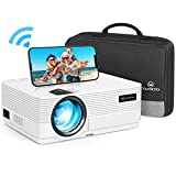 WiFi Beamer 4500 Lux, VANKYO Leisure 470 Wireless Beamer, Support 1080P Full HD Heimkino Beamer...