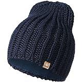 GIESSWEIN Strickmütze Giebel - Warme Mütze aus Merinowolle, Unisex High Beanie für Damen &...