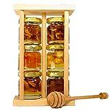 FOODOKO FINEST - Akazienhonig Set Honig Geschenkset aus 6 verschiedenen naturbelassenen...