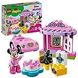 LEGO 10873 DUPLO Disney Minnies Geburtstagsparty, Bauset mit Minnie Maus, Katzenfigur, Spielzeugauto...