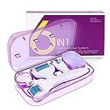 Fixget Dermaroller 1mm, Nadel Roller Haut Micro Needling Titan Roller 0,5mm für Gesicht Face Body...