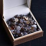50G Natürlicher Rosenquarz Weißer Kristall Mini Rock Mineral Heilstein Für Aquarienstein Home...