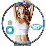 Hula Hoop zur Gewichtsreduktion, Einstellbares Gewicht Hoola Hoop Hulahoopreifen für Erwachsene...