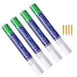 Fugenstift Weiß, 4 Stück Fugenweiß Stift Wasserfest, Reparaturstift/Fugen Reparatur Stift mit...