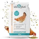 Ida Plus - Hühnerfutter Mix 25 Kg - Ausgewogenes Alleinfutter - Ganzjahresmischung, GVO-frei auch...