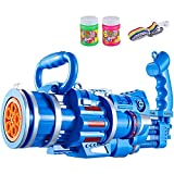 SONG Gatling Bubble Machine,Cooles Spielzeug Geschenk Acht Loch Automatische Bubble,Jungen...