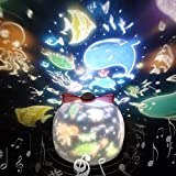 Sternenhimmel Projektor Lampe SYOSIN Kinder LED Musik Nachtlicht Baby Sterne Lampe mit 6...
