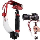 AFUNTA Pro Tragbare Kamera-Stabilizer-Steady (geeignet für DSLR Kameras bis zu 2,1 lbs)...