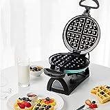 JZH-kitchen Waffeleisen Maschine Rotationsdesign Mini Elektrisch Kuchenmacher Antihaft-Beschichtung...