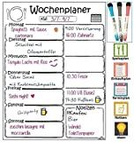 Libetui Magnetischer Wochenplaner, Magnettafel für Küche, Menüplaner, Weekly Menu Planer,...