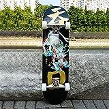 Honglimeiwujindian Erwachsene Kinder Skateboard Aluminium LKW-100A Bandlager 52mm Skateboard Rad im...