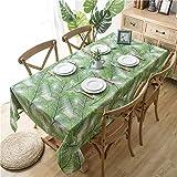 GAOHAILONG Tischdecke, nordisches Design, Baumwolle und Leinen, Bedruckt, Möbel-Staubschutz für...