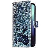 Uposao Kompatibel mit Samsung Galaxy A60 / M40 Hülle Handyhülle Glänzend Bling Glitzer Strass...