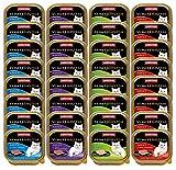 animonda Vom Feinsten Adult Katzenfutter, Nassfutter für ausgewachsene Katzen, Mix Fisch & Fleisch,...