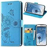 kazineer Galaxy S3 Hülle, Leder Tasche Handyhülle für Samsung Galaxy S3 / S3 Neo Schutzhülle...