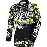 O'NEAL   Motocross-Shirt Langarm   MX MTB Mountainbike   Passform für Maximale Bewegungsfreiheit,...