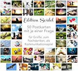 Edition Seidel Set 50 Premium Postkarten Motivationskarten Kommunikationstraining Konversation-Spiel...