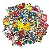 SUNNU Graffiti Sticker Anime Rock Retro Funny Stickers Gift for Kids Vinyl Laptop Guitar Luggage...