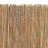 ESTEXO Bambusmatte - Sichtschutzzaun, Gartenzaun, Natur, Bambus, Zaun, Sichtschutz, Windschutz...