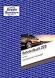 AVERY Zweckform 223 Fahrtenbuch (für PKW, vom Finanzamt anerkannt, A5, auf 80 Seiten für insgesamt...