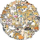 PMSMT 50PCS Schönes Haustier Shiba Inu Dogen Hund Tier Aufkleber für Kinder DIY Briefpapier Laptop...
