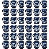 Wellco Glühweinbecher mit Henkel 200 ml, Keramik, Kobaltblau (36 Stück)