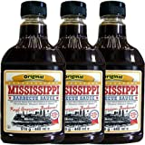 Mississippi Barbecue Sauce 'Original' 3 x 440ml (Grill-Sauce)