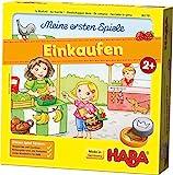 HABA 302781  Meine ersten Spiele  Einkaufen, Spiel ab 2 Jahren mit 3D-Marktstand und Spielmaterial...