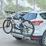 Blueshyhall Auto Fahrradträger Heckklappe Fahrradträger ohne anhaengerkupplung Fahrradträger mit...