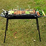 JEHO Tragbare Neue im Freien Barbecue Unabhngige Carbon-Cao Barbecue Groe Thick Holzkohlegrilgrill