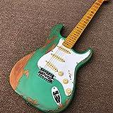 SYXMSM gitarre anfänger gitarren gitarre acustica akustische elektrische gitarre E-gitarre pickup...