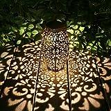 Solar Laterne Lichter für hängende Outdoor-Ornamente Geschenk Outdoor-Dekoration Tischlaterne...