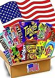 1,5 KG- JUMBO USA Süßigkeiten Box - USA Sweets - verschiedene Leckereien - Takis Chips- Perfekte...