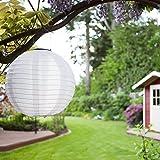 Eniko Solar Lampions 5er Set Led Laterne Wasserfest IP55 für Garten Deko Terrasse, Hof, Haus,...
