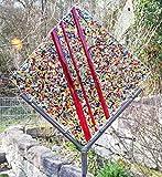 Gartenskulptur Farbentraum aus Glas und Metall Design Farbentraum