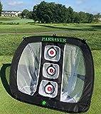 Parsaver Players Choice – Golf Chipping-Netz – Pop-Up-Netz für drinnen und drinnen –...