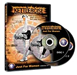 Kettlercise Just For Women Vol 1, 2 Disc DVD Set - Ultimate Kettlebell Fat Loss & Body Tone Workout...